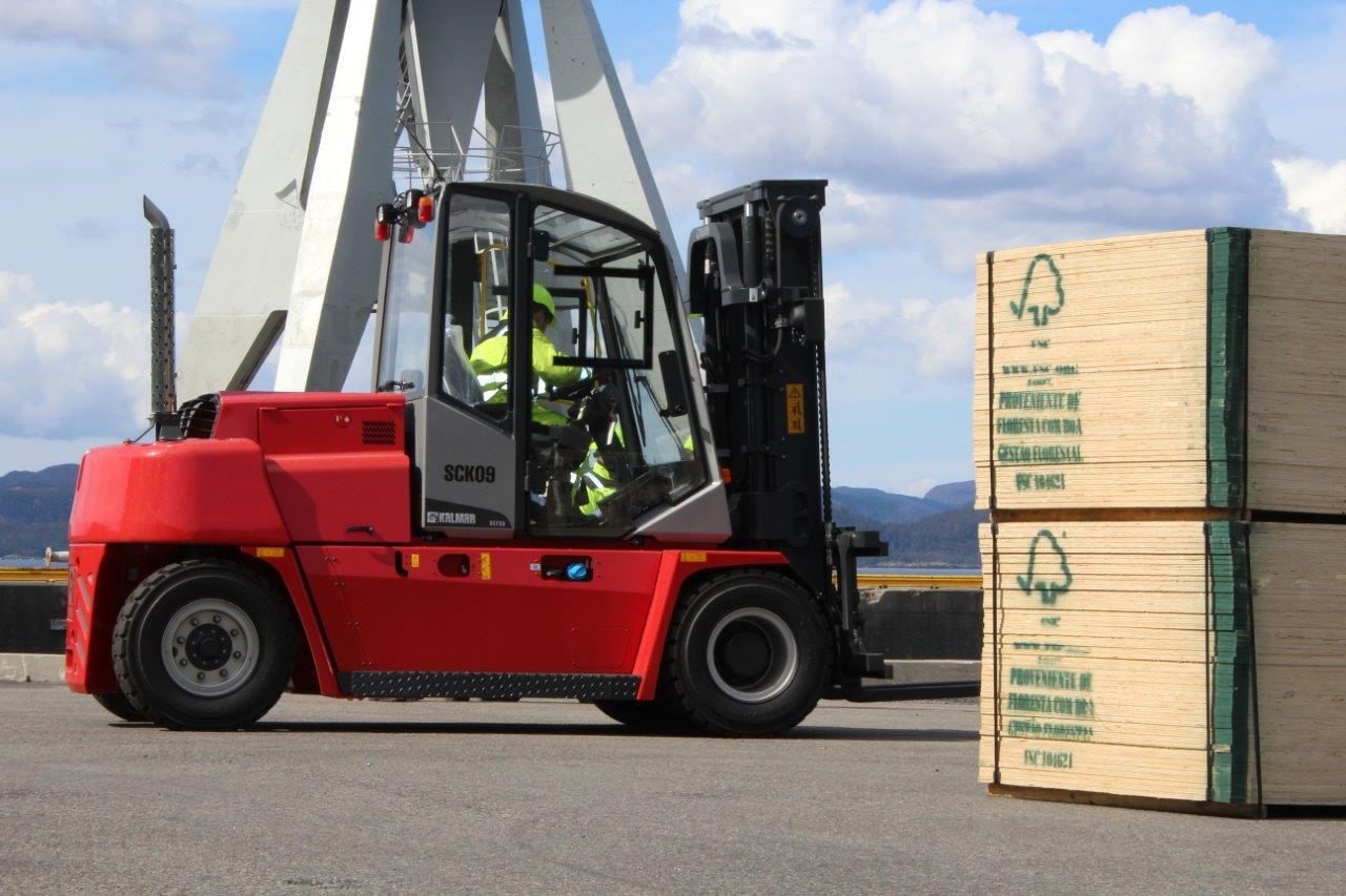 Her finner du truckførerkurs som gir truckførerbevis